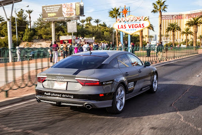 Audi A7 Piloted Driving Concept Drives Silicon Valley to Las Vegas Drive 75