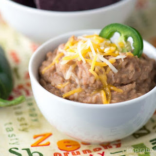 Slow Cooker Refried Beans Recipe
