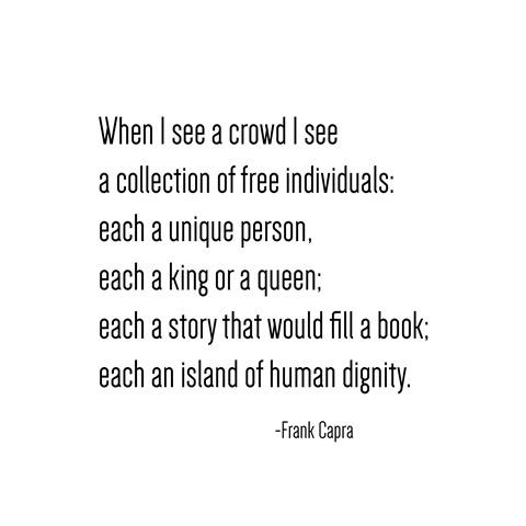 human dignity -- frank capra