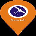 Route Info GPS Tracker icon