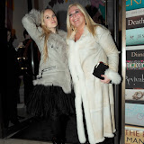 WWW.ENTSIMAGES.COM - Vanessa and Allegra  Feltz  arriving at  Costa Book of The Year Award 2012 at Quaglino's Bury Street London January 29th 2013                                                         Photo Mobis Photos/OIC 0203 174 1069