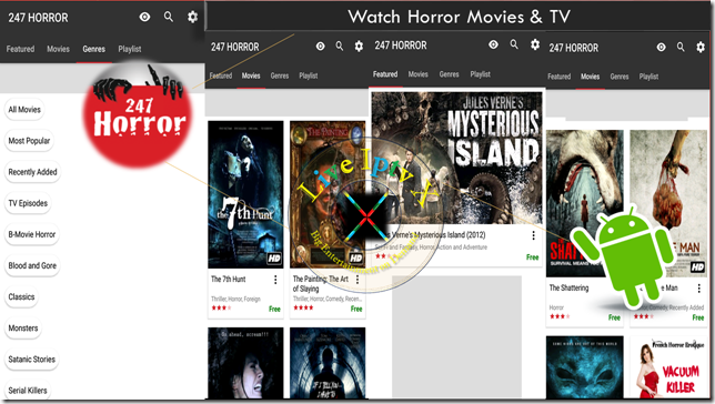247 Horror Movies & TV APK