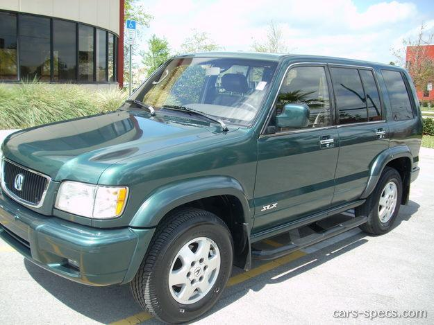 1996 Acura SLX SUV Specifications, Pictures, Prices