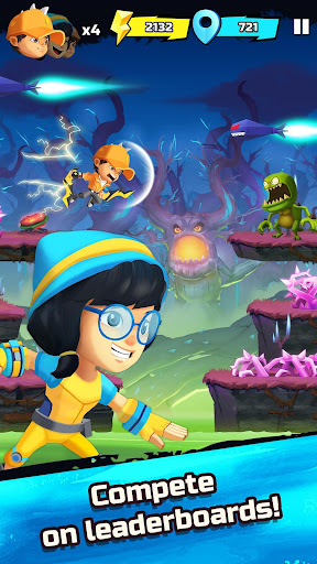 BoBoiBoy Galaxy Run: Fight Aliens to Defend Earth! 1.0.5d screenshots 4