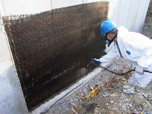 cote foundation waterproofing membrane j cote spans across foundation