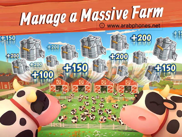 شرح لعبة Big Farm مهكرة للأندرويد