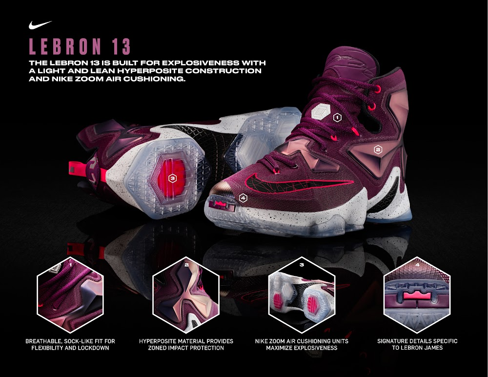 d597d8ac61d3a ... Official Look at Nike LeBron 13 Written in the Stars