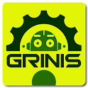 Data & battery control.Grinis icon