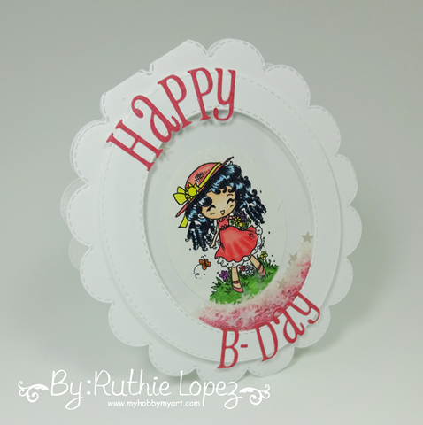Star In My Pocket - Star Stampz - Latinas Arts and Crafts - My Hobby My Art - Ruthie Lopez. 5