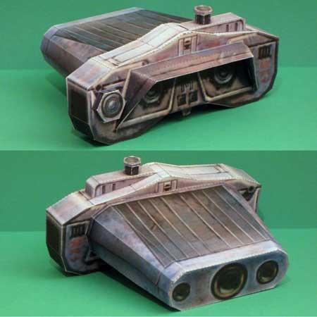 Star Wars Jedi Knight Papercraft Electrobinoculars