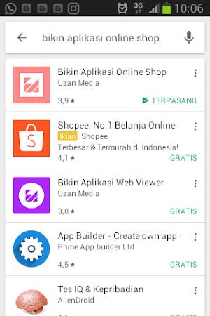 Mudah Membuat aplikasi olshop