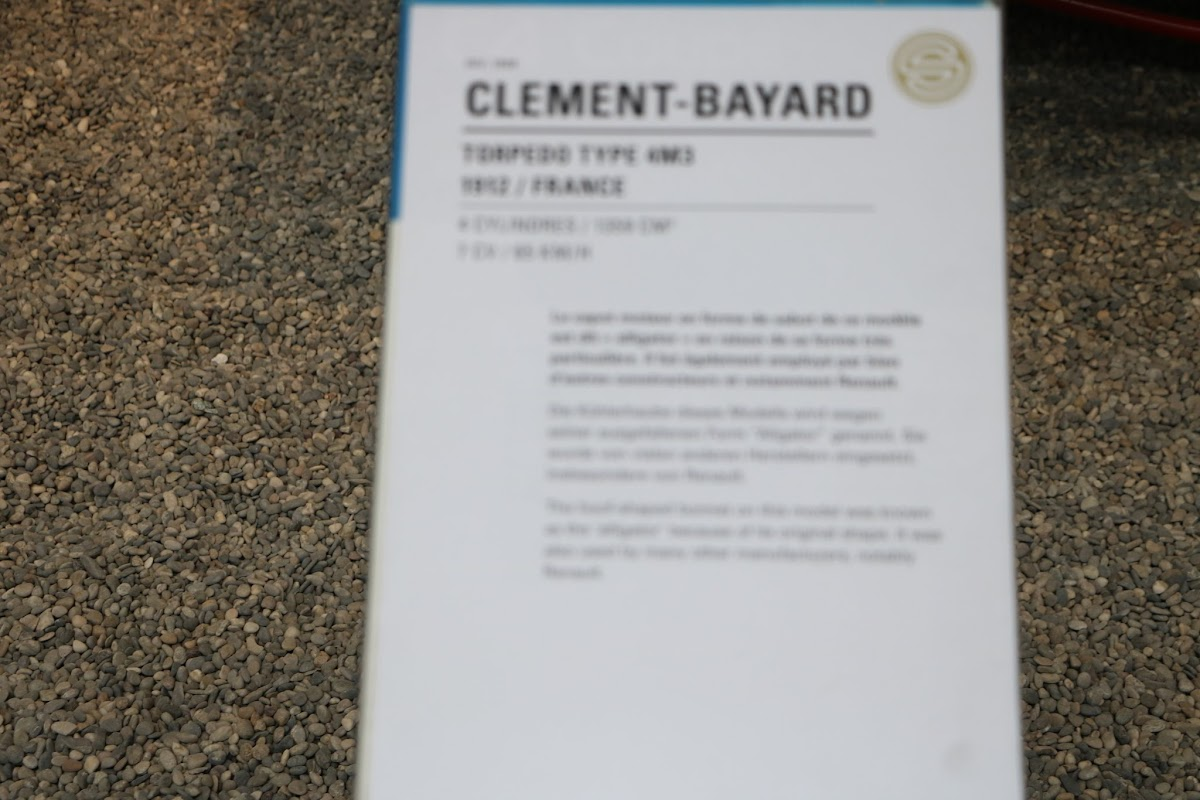 Schlumpf Collection 0517 - 1913 Clement-Bayard Torpedo.jpg
