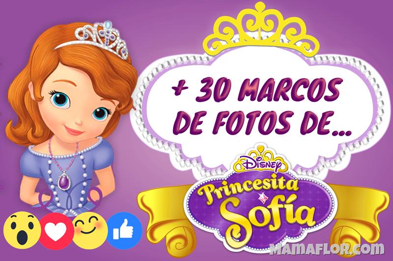 Marcos de Fotos de la Princesita Sofia