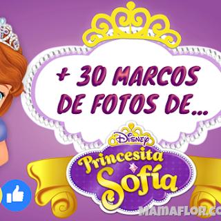 Marco de Fotos de la Princesa SOFÍA, más de 30 Diseños Gratis