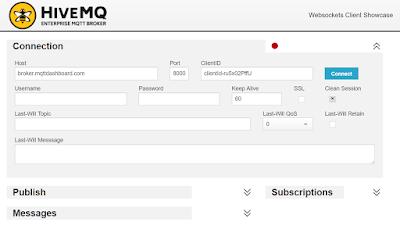 How can I connect MQTT via websockets on Node-Red? - Google