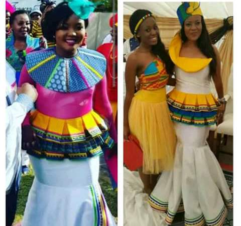 NEW SOUTH AFRICAN TRADITIONAL DRESSES ( 2019 ) IDEAS 1