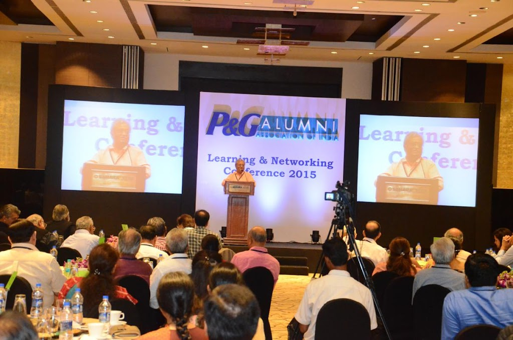 P & G Alumni - Learning and Networking Conference 2015 - 2
