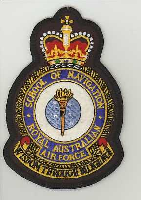 RAAF School of Navigation crown.JPG