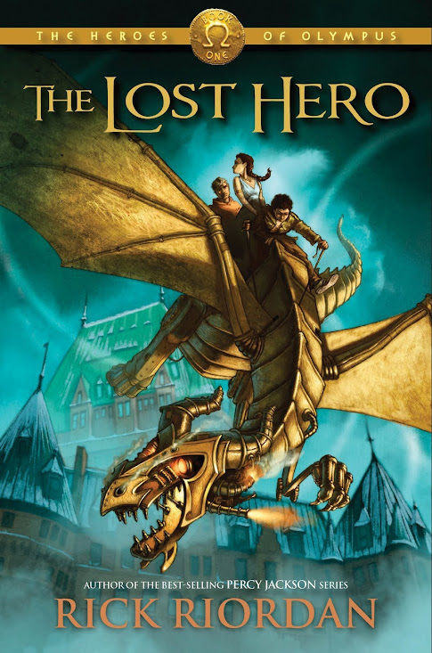 Book Review: The Lost Hero (Heroes of Olympus, Book 1), By Rick Riordan