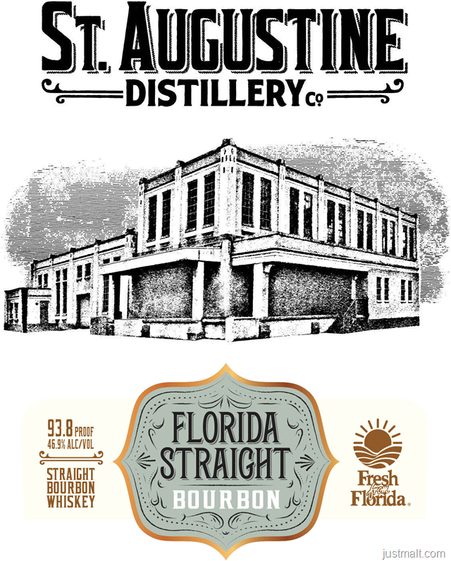 St. Augustine Distillery Florida Straight Bourbon