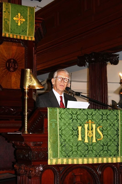 Charleston Mayor Joe Riley speaks about the legacy of Senator Fritz Hollings.