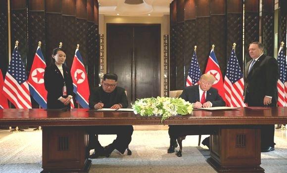 قمة ترامب-كيم: نزع السلاح النووي مقابل الحماية الأمنية لبيونغ يانغ