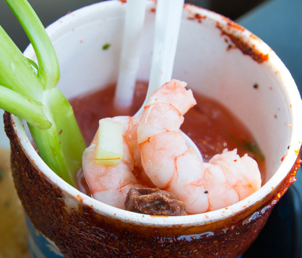 close-up photo of Clamato Preparado