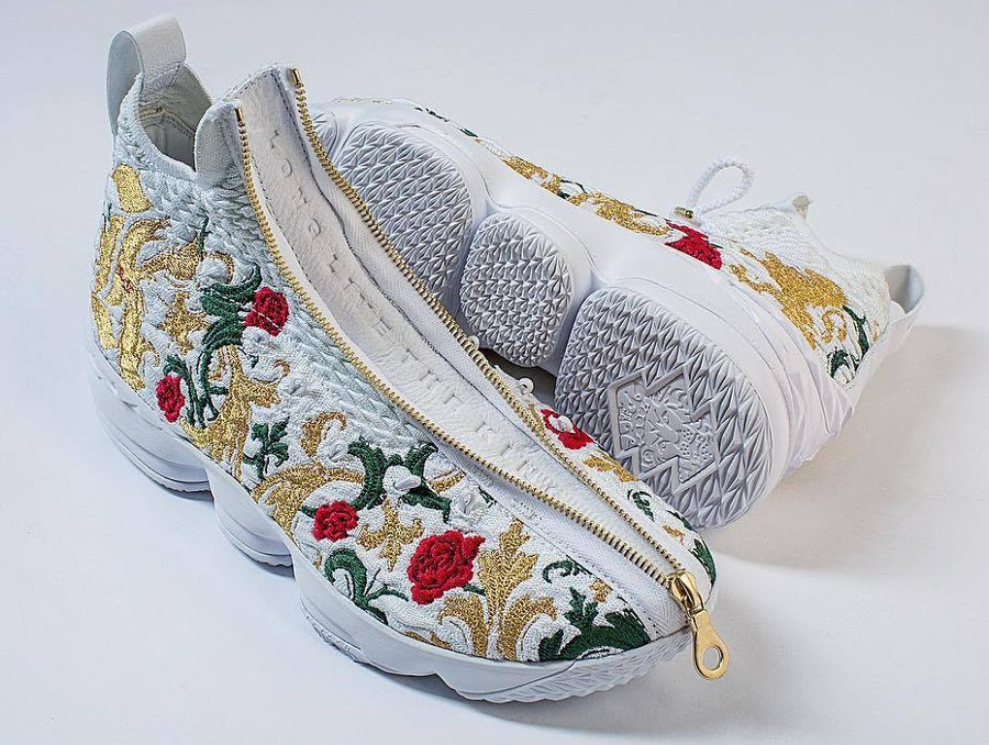 f067f68ebe146 Long Live The King With NIKE LEBRON 15 X KITH ...