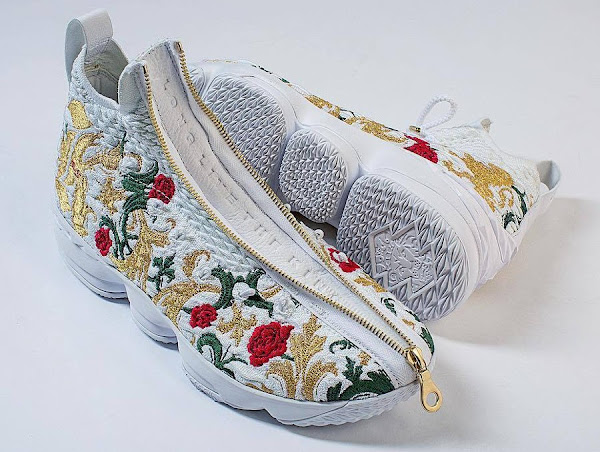 Long Live The King With NIKE LEBRON 15 X KITH