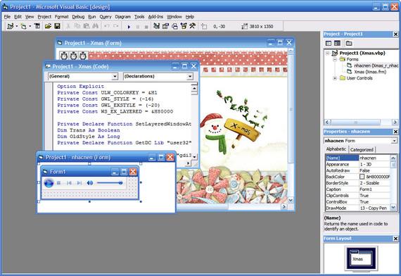 Visual basic 6.0 Portable   Full software