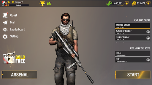 Bullet Strike: Sniper Games - Free Shooting PvP 0.8.2.1 screenshots 8