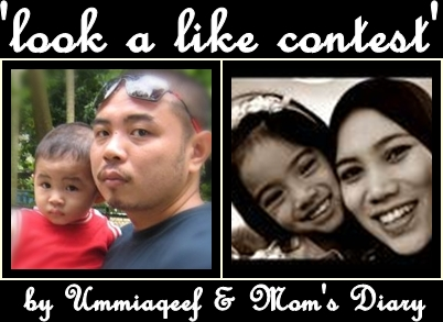 Look a Like Contest' by Ummiaqeef & Mom's Diary