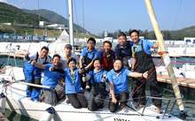 J/80 China Cup sailing team- winners