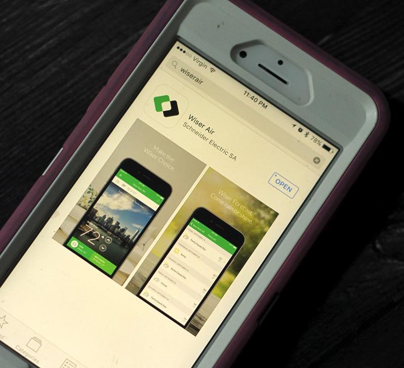 WiserAir App