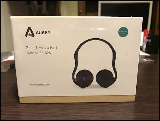 IMG 0672 thumb%25255B2%25255D - 【ガジェット】コレはすげぇ!「AUKEY Sport Headset EP-B26」レビュー!ジム通いが捗りまくり!【折りたたみ式超小型Bluetoothヘッドフォン】