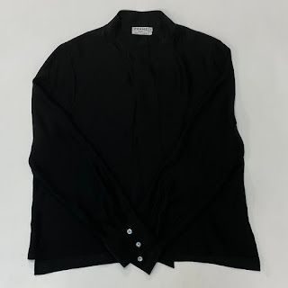 Frame Shirt Silk Blouse