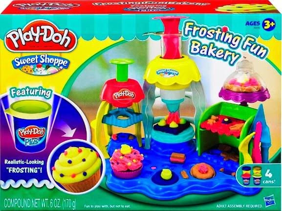 Chơi với Tiệm bánh vui vẻ Play-Doh Frosting Fun Bakery thật sạch sẽ