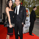 OIC - ENTSIMAGES.COM - Christine Bleakley and Frank Lampard at the Professional Footballers' Association (PFA) Awards in London 26th April 2015  Photo Mobis Photos/OIC 0203 174 1069