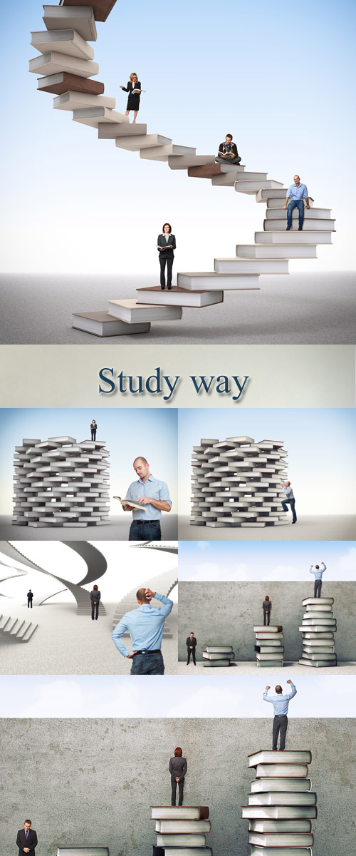 Stock Photo: Study way