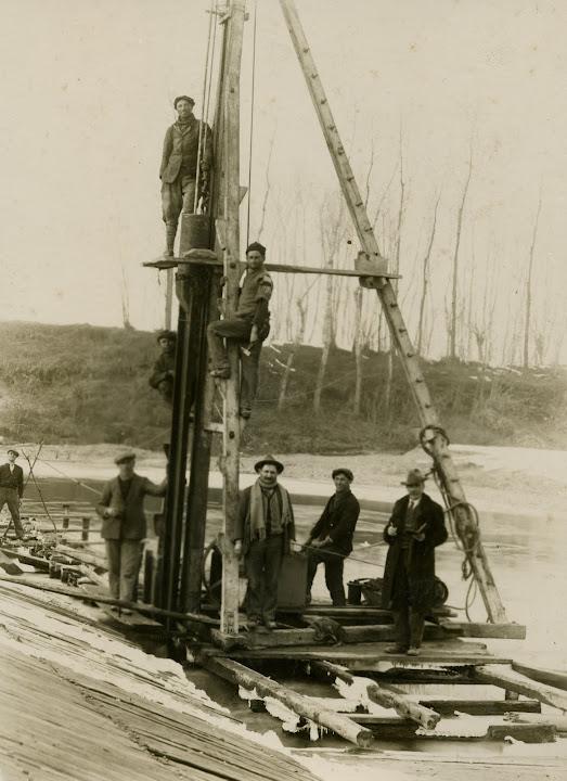diga sulla bormida 1920/1925 finela, ciadina