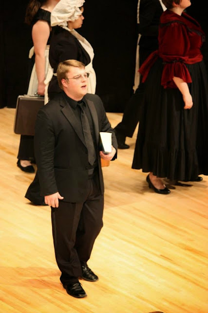 A Little Night Music, Tenor Jacob Wilson as Henrik