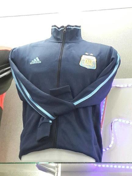 Jual Jaket Argentina Away Terbaru 2014