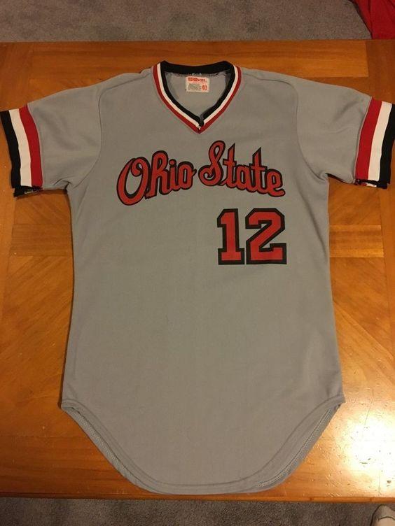 ohio state baseball jersey