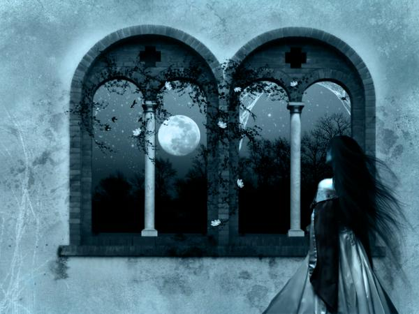 Moon From The Window, Gothic