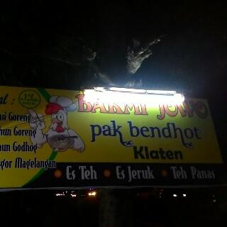 Bakmi Jowo Pak Bendhot