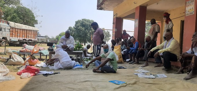 महामारी का कहर,एक ही गांव में एक ही साथ दो सेजिया दान