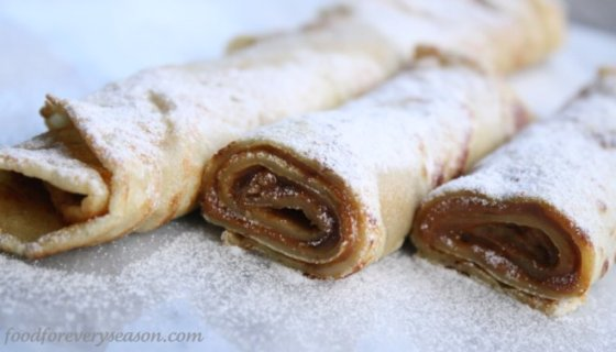 Food for every season: Crepes with Homemade Dulce de Leche