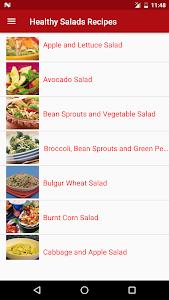 Healthy Salad Recipes screenshot 1