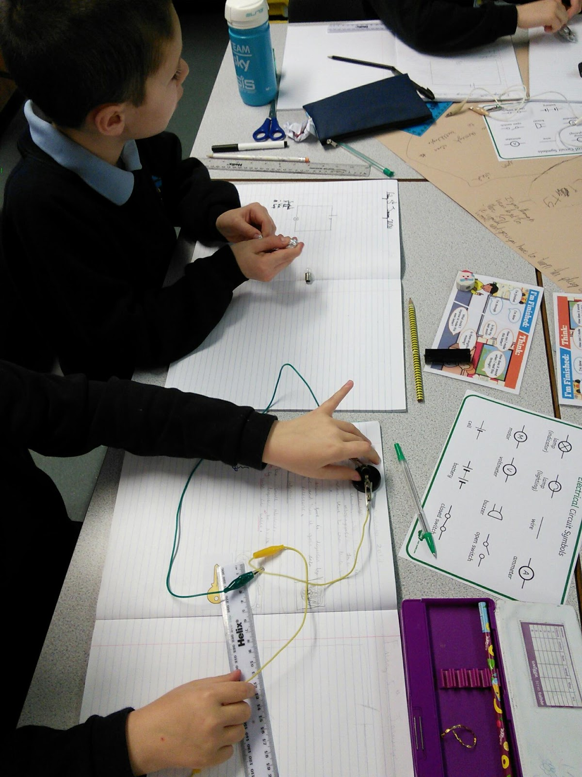 Cromer Junior School 4s Science Electricity Learning Electrical Circuits