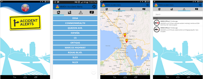Image of MMDA Traffic Accident Alerts App
